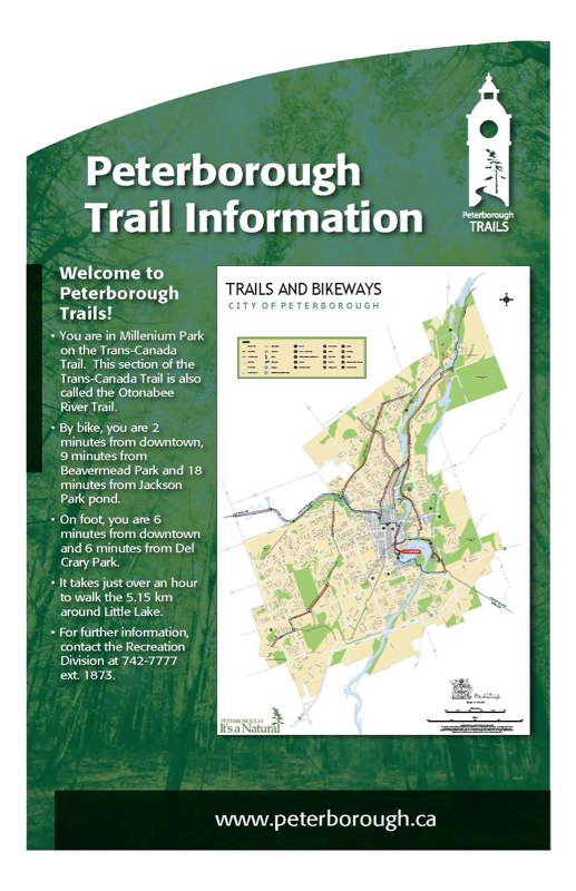 Trail Map panel 4